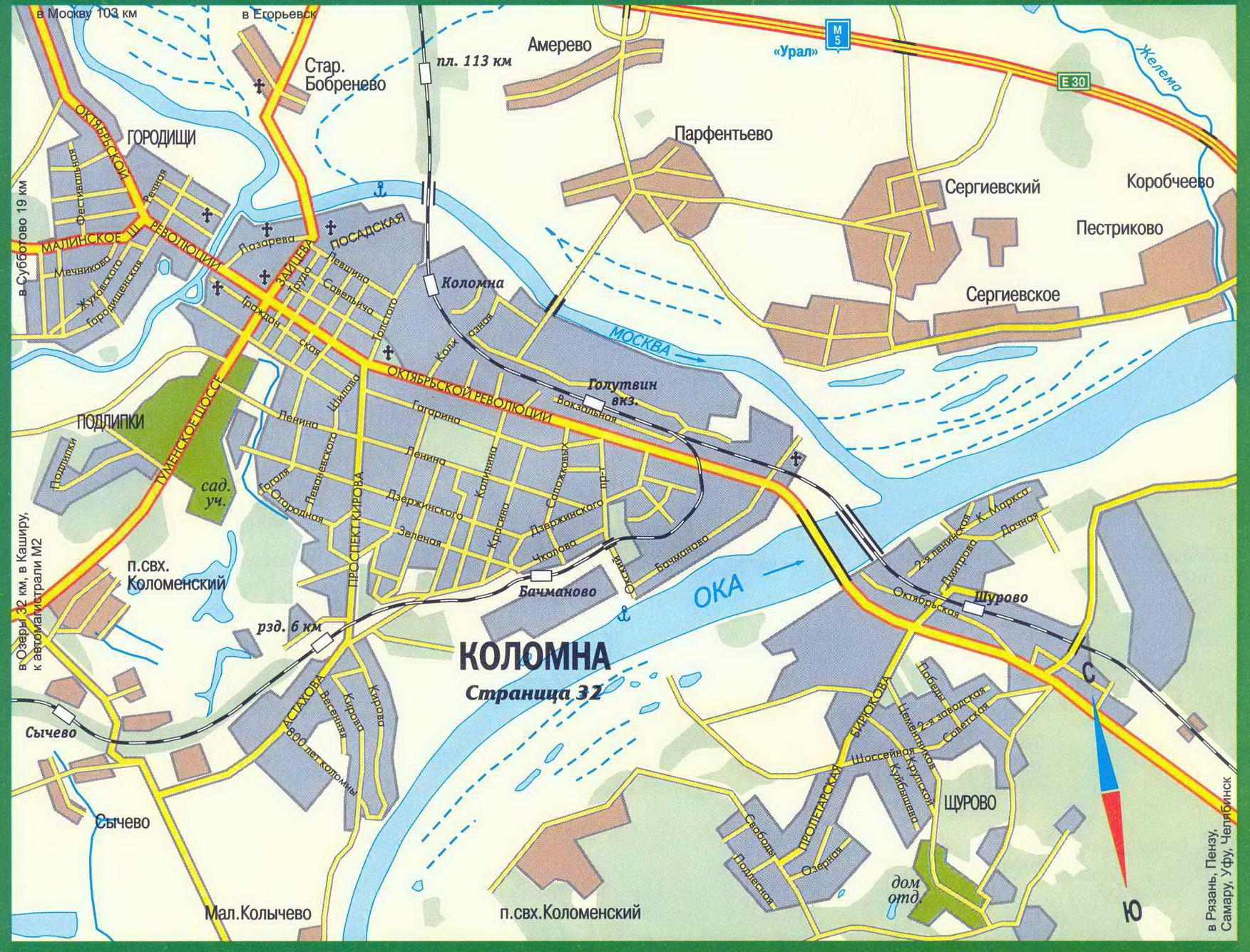 карта проститутки московская область